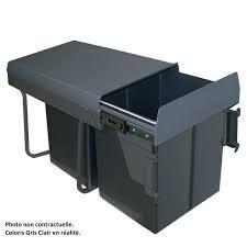 poubelle cuisine tri s駘ectif 2 bacs poubelle tri selectif sous evier poubelle meuble cuisine meuble