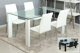 Glass Dining Tables And 6 Chairs Glass Dining Table Sets Glass Dining Table Set 6 Chairs Glass