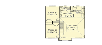 family room floor plans farmhouse plan with upstairs family room 6522rf architectural