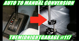 how to do an auto to manual conversion in your honda