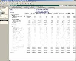 Interim Balance Sheet Template Profit And Loss