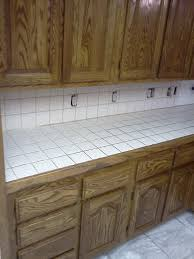 Tile Countertops Kitchen Delighful White Tile Countertops Kitchen Inspired Examples Of In