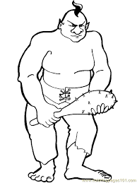 frozen giant coloring pages troll giant coloring page 08 coloring page free fantasy coloring