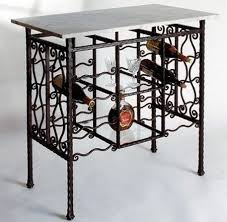 metal wine rack table metal wine rack furniture furniture designs