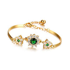 diamond bracelet women images Bracelets for women 18k gold plated jewelry for women jpg