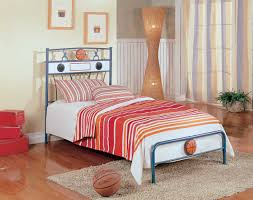 homelegance melody land twin basketball speaker metal bed 131bt 1