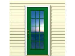 all glass front door entry door styles diy