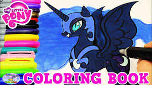 my little pony color book my little pony coloring book nightmare moon episode colors