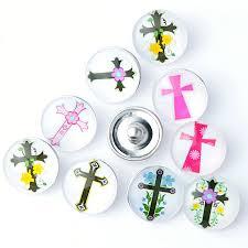 snap button mix styles round glass bracelet u0026bangle women diy snap