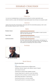 Research Associate Resume Sample by Process Associate Resume Samples Visualcv Resume Samples Database