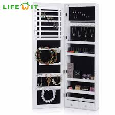 armoire captivating cheap jewelry armoire for home jewelry mirror