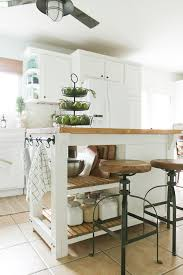 diy kitchen island diy kitchen island with trash storage shades of blue interiors