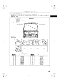 How To Read Dimensions Manual De Medidas De Carroceria Y Chasis Ranger Courier Ford