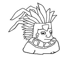 coloring page aztec color online coloringcrew 538281 coloring