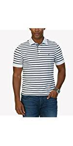 nautica men u0027s short sleeve solid deck polo shirt at amazon men u0027s