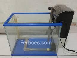 membuat filter aquarium kecil membuat air terjun pasir aquarium mini ferboes com