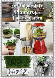 diy planters 40 unique diy planters for home garden diy for life