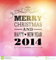 happy new years posters merry christmas and happy new year 2014 poster stock vector