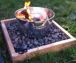 handmade fire pit build a fire pit for around 50 supplies 1 large metal tin
