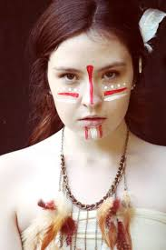 Face Makeup Designs For Halloween by Best 20 Native American Makeup Ideas On Pinterest Native