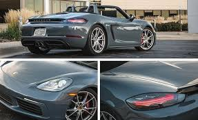 porsche boxster gas mileage 2017 porsche 718 boxster s pdk automatic test review car and