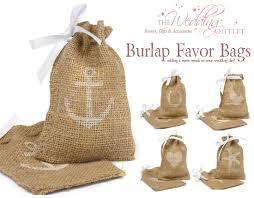 burlap gift bags friday favor of the day burlap favor bags