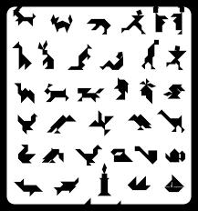 tangram puzzles 12 tangrams langhorst summer school