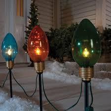 lawn stakes for lights sylvania 4 pack 8 multi color jumbo c9 light bulb pathway marke shopko