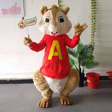 Alvin Halloween Costume Buy Wholesale Alvin Chipmunks Chipmunk Mascot
