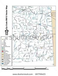 spokane zip code map spokane stock vectors images vector
