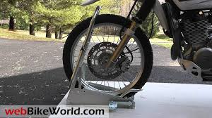 wheels motocross bikes acebikes steadystand cross dirt bike wheel chock youtube