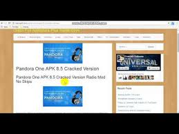 pandora one apk pandora one apk 8 5 cracked version radio mod no skips