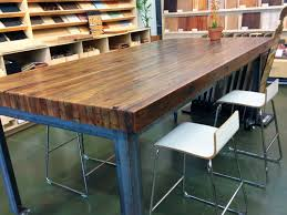 how to make your own dining room table kitchen expand your kitchen workspace with butcher block table