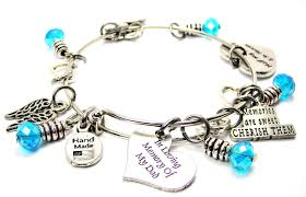 in loving memory charms in loving memory of my heaven bangle chuck of charms