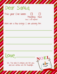 7 best images of letter from santa printable template free