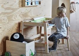 Ikea Kids Table Adjustable Ikea U0027s Flisat A New Collection That Grows With Your Child Chalk
