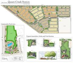 Gilbert Arizona Map by Queen Creek Station By Fulton Homes