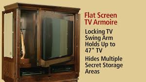 Home Decorators Tv Stand Tv Armoire Converts Locked Hidden Area To Gun Cabinet Youtube