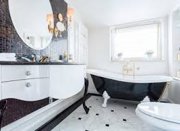excellent idea 17 black and white bathroom designs home design