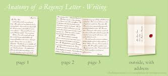 paper to write letters anatomy of a regency letter her reputation for accomplishment writing the letter