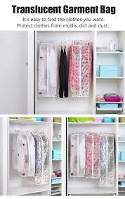 honana hn b4 clothes dustproof storage bag suit garment cover