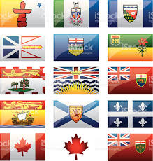 New Brunswick Flag Canadian Provinces Flags Stock Vector Art 165804795 Istock