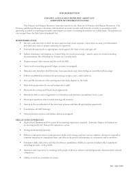 resume templates for human resources generalist