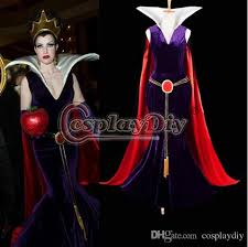 Quality Halloween Costumes Custom Evil Queen Dress Costume Snow White