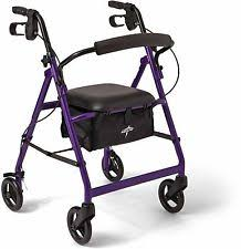 senior walkers with seat senior walker ebay