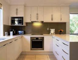 small u shaped kitchen remodel dark wood kitchen cabinets beige
