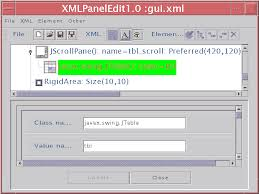 gui swing java swing gui builder by xml exle for layoutmanager of swing gui
