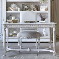 White Entry Table by Eloquence Inc