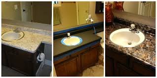paint formica bathroom cabinets bathroom diy low budget faux granite countertop for kitchen or