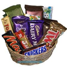 chocolate baskets cadbury mix chocolates gift basket 14 chocolates send gifts to